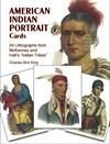 Kortbog - American Indian Portrait Cards