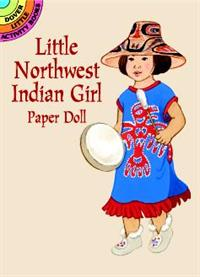 PD - Bog Little Northwest Indian Girl