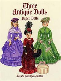 PD - Bog Three Antique Dolls
