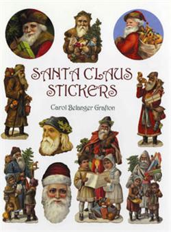 Stickersbog - Santa Claus Stickers